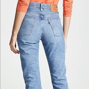 Levi's 501 Original Cropped High Rise Straight